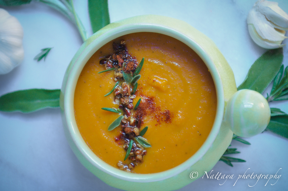 imply Sage And Rosemary Butternut Squash Soup Recipe