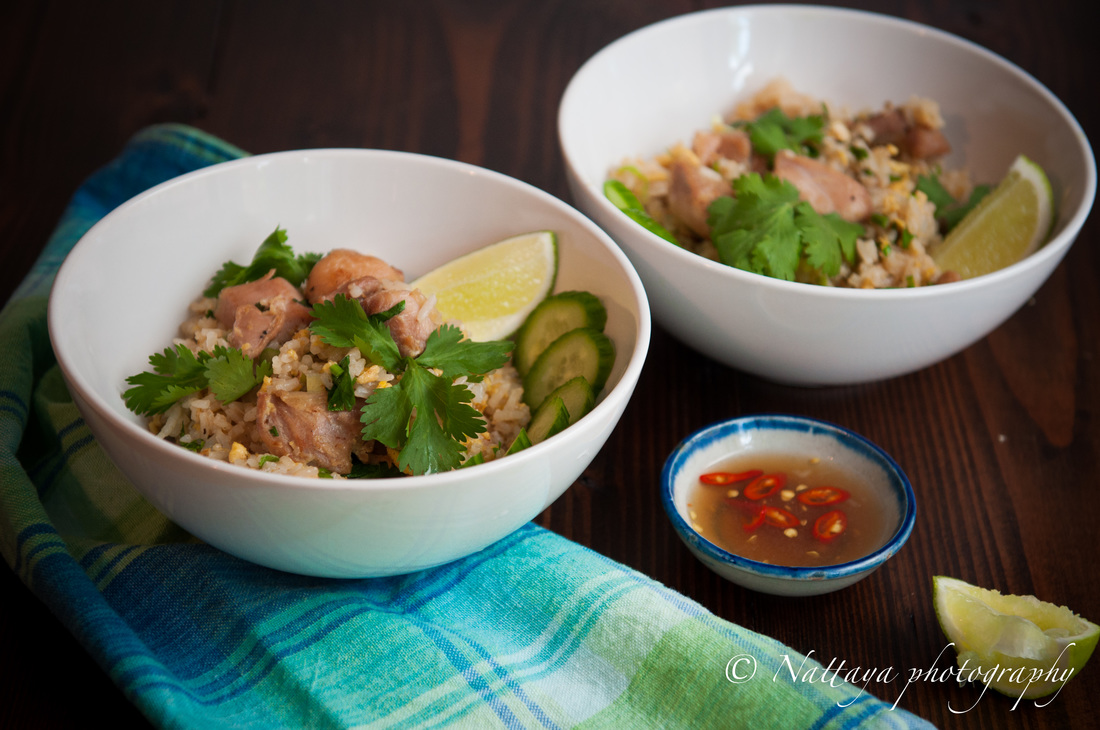 Perfect Thai Fried Rice With Marinated Chicken Recipe