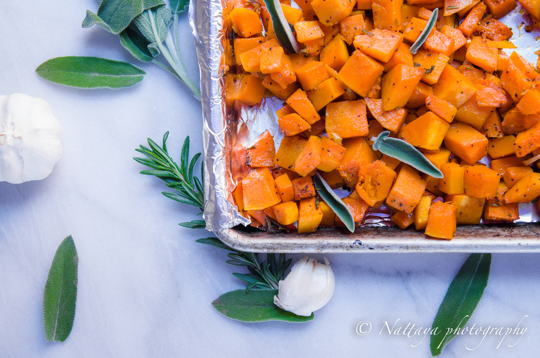 Simply Smoky Roasted Butternut Squash Recipe