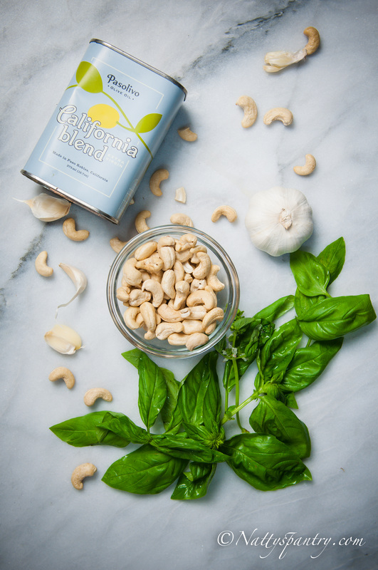 Cashew Pesto Recipe
