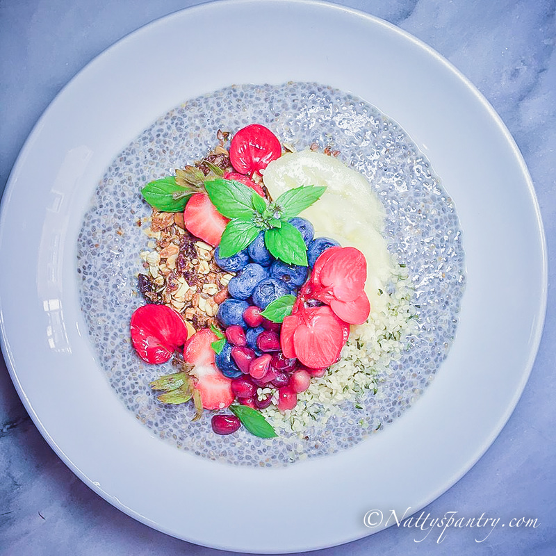 Overnight Vanilla Chia Seed Pudding Bowl Recipe