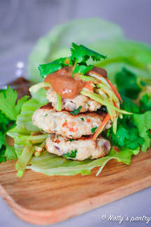 THAI TURKEY BURGERS RECIPE, Whole30: Nattyspantry.com