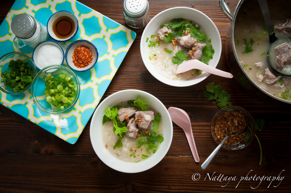 Comforting Pork Ribs and Rice Soup Recipe