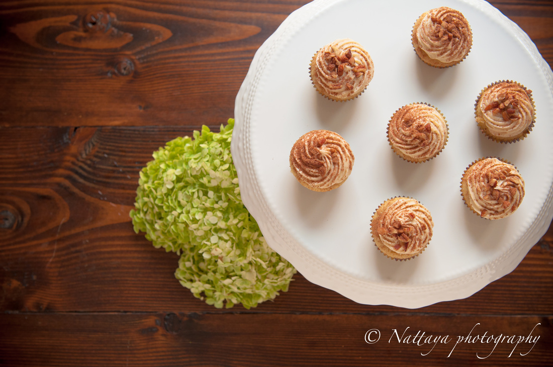 Coffee Mini-Cupcakes with Espresso Cream Cheese Frosting Recipe