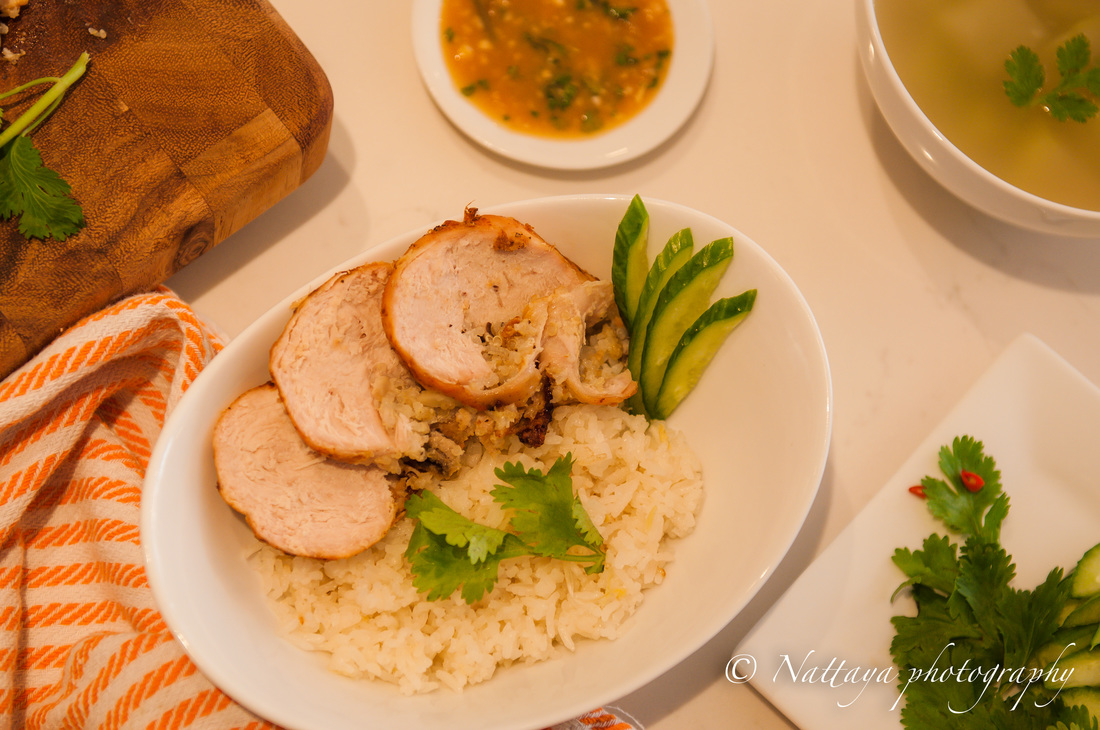 http://www.nattyspantry.com/natty-style-khoa-mun-gai--rice-infuse-chicken-garlic-and-ginger-flavors--recipe