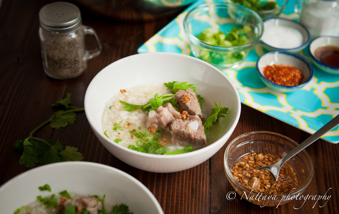 Comforting Pork Ribs and Rice Soup