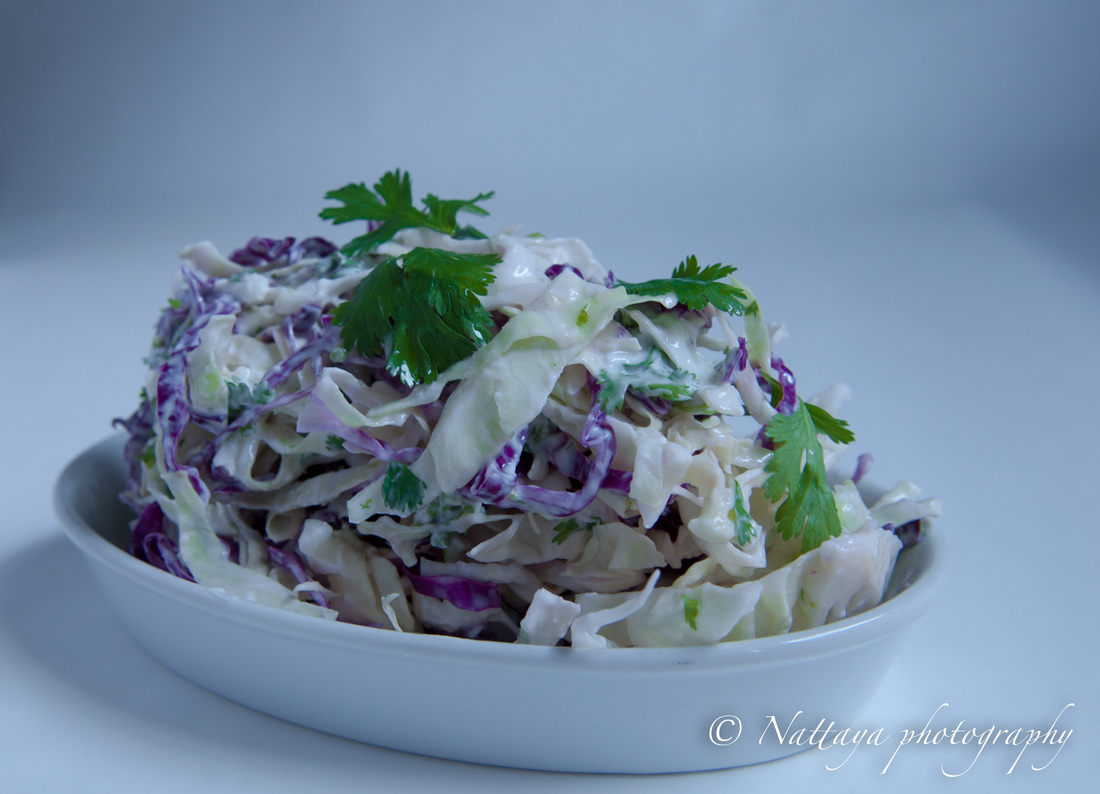Homemade Cabbage slaw