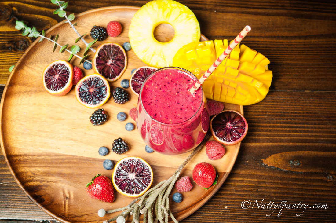 Mixed Berries Smoothie Recipe