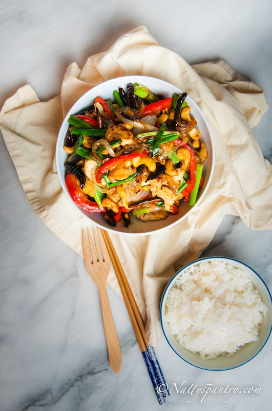 Stir-fry Cashew Chicken : Nattyspantry.com